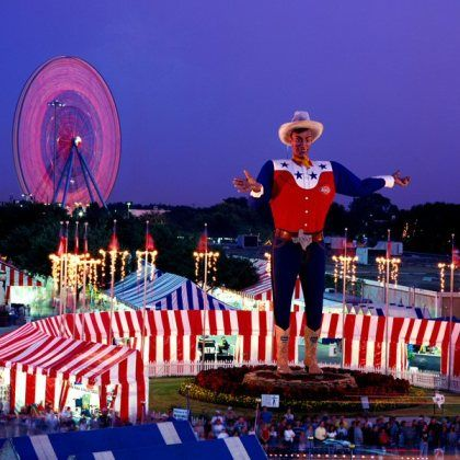 State Fair of Texas! Corny Dogs, Homemade Lemonade, Award Winning Quilts, New Cars, and Fried Anything!