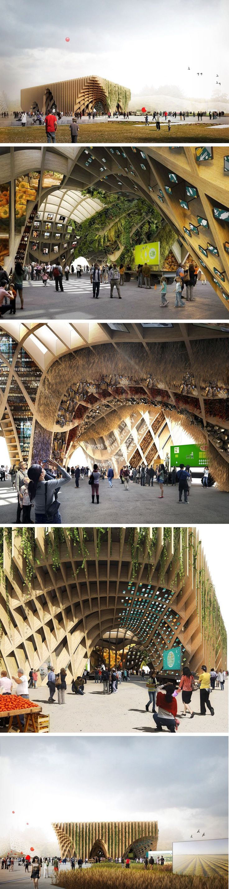 France Pavilion at @Expo2015Milano  by X-TU architects #architecture #pavilion #expo2015