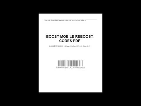 Boost Mobile Reboost Codes | Boost mobile | Boost mobile