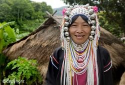 Northern Thailand tribe/bordering Laos