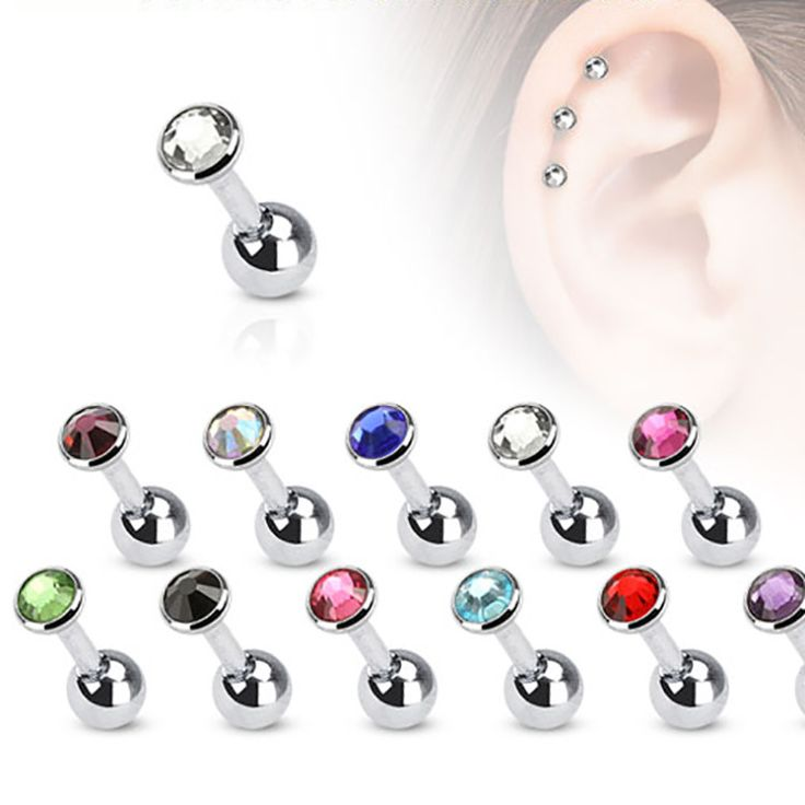 Tragus Cartilage Piercing Stud Earring Arctic Buffalo