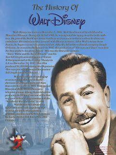 Walt Disney history