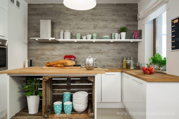 Kuchnia Zoliborz Proj Dorota Szelagowska Www Dorotaszelagowska Pl Home Kitchens Kitchen Cabinets Home