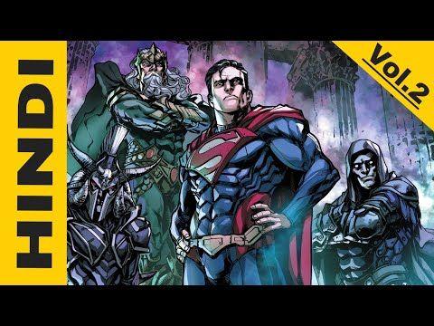 Injustice Gods Among Us Year 4 Vol.2 Hindi full comic books explained| Superman vs Old Gods | DC Comic Explained in Hindi - YouTube