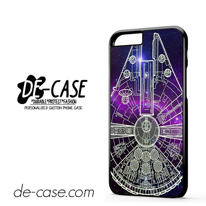 Star Wars Millenium Falcon Blue Sky DEAL-10033 Apple Phonecase Cover For Iphone 6 / 6S