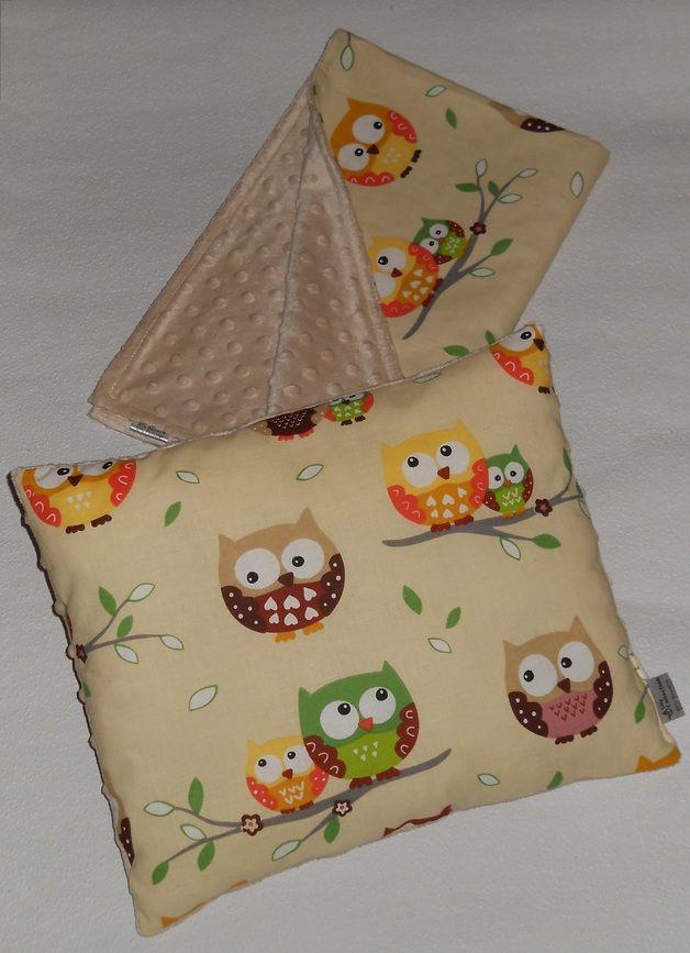 KOMPLET KOCYK 75/100 + PODUSZKA MINKY - Lilly_Collection - Kocyki dla niemowląt