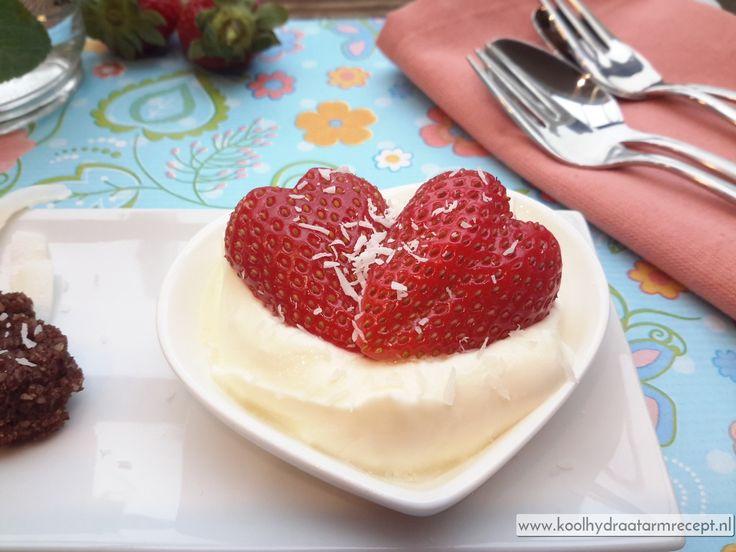 Romantisch Valentijnsdag toetje | KoolhydraatarmRecept.nl