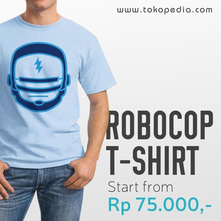 Cara ini akan membuat kamu semakin lebih mirip Robocop tanpa perlu menghabiskan uang gajian! Beli dong Kaos Robocop, murah dan banyak pilihan. Klik http://www.tokopedia.com/hot/kaos-robocop