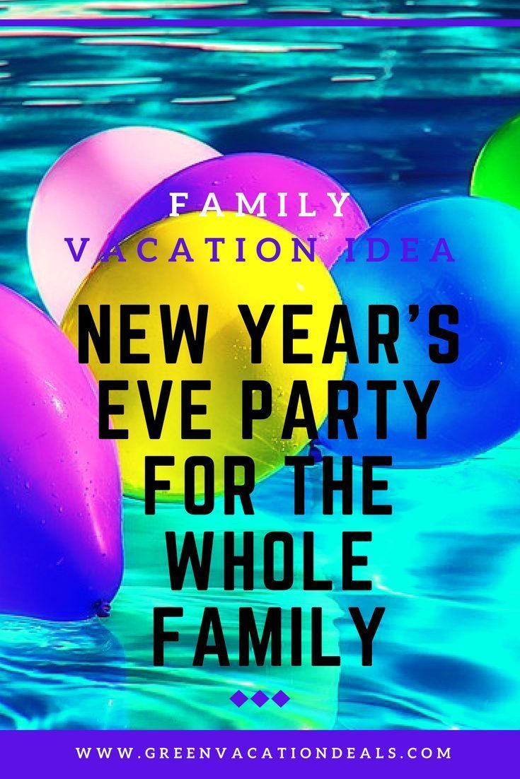 Pin On New Years Eve With Kids