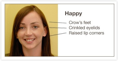According to Eckman's Facial Action Coding System (FACS), love can fall under the category of happy or sad. I think happy with a wider grin and softer eyes would do the trick.