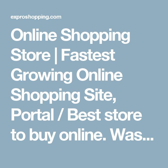 Online Shopping Store | Fastest Growing Online Shopping Site, Portal / Best store to buy online. Washing Machines | You are here on the best and one of the largest online shopping store for all kinds of electronic appliance like Washing Machines