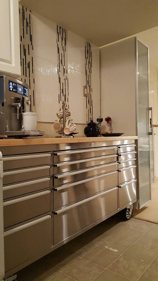 Love It Or Leave It This Rolling Tool Chest Used As A Storage Unit In