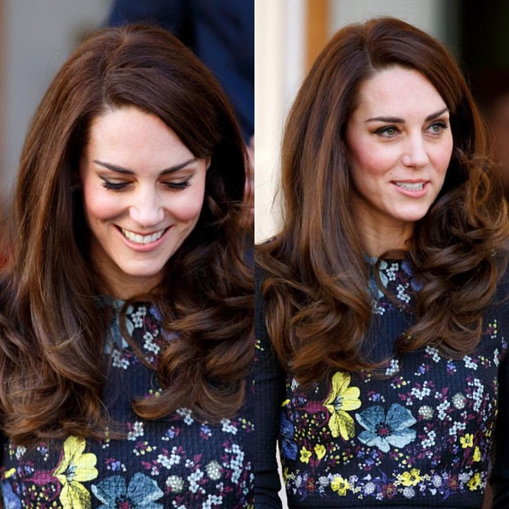 And how amazing did Kate's hair look today!