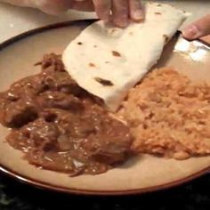 Slow Cooker Carne Guisada - This is the same recipe my mother and grandmother used. Very simple and DELICIOUS!!!