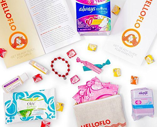 Helloflo Period Starter Kits. Oneofakind Care Packages