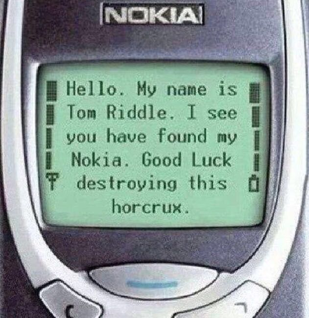 He could have made a Nokia mobile into a hocrox, harry could never destroy it