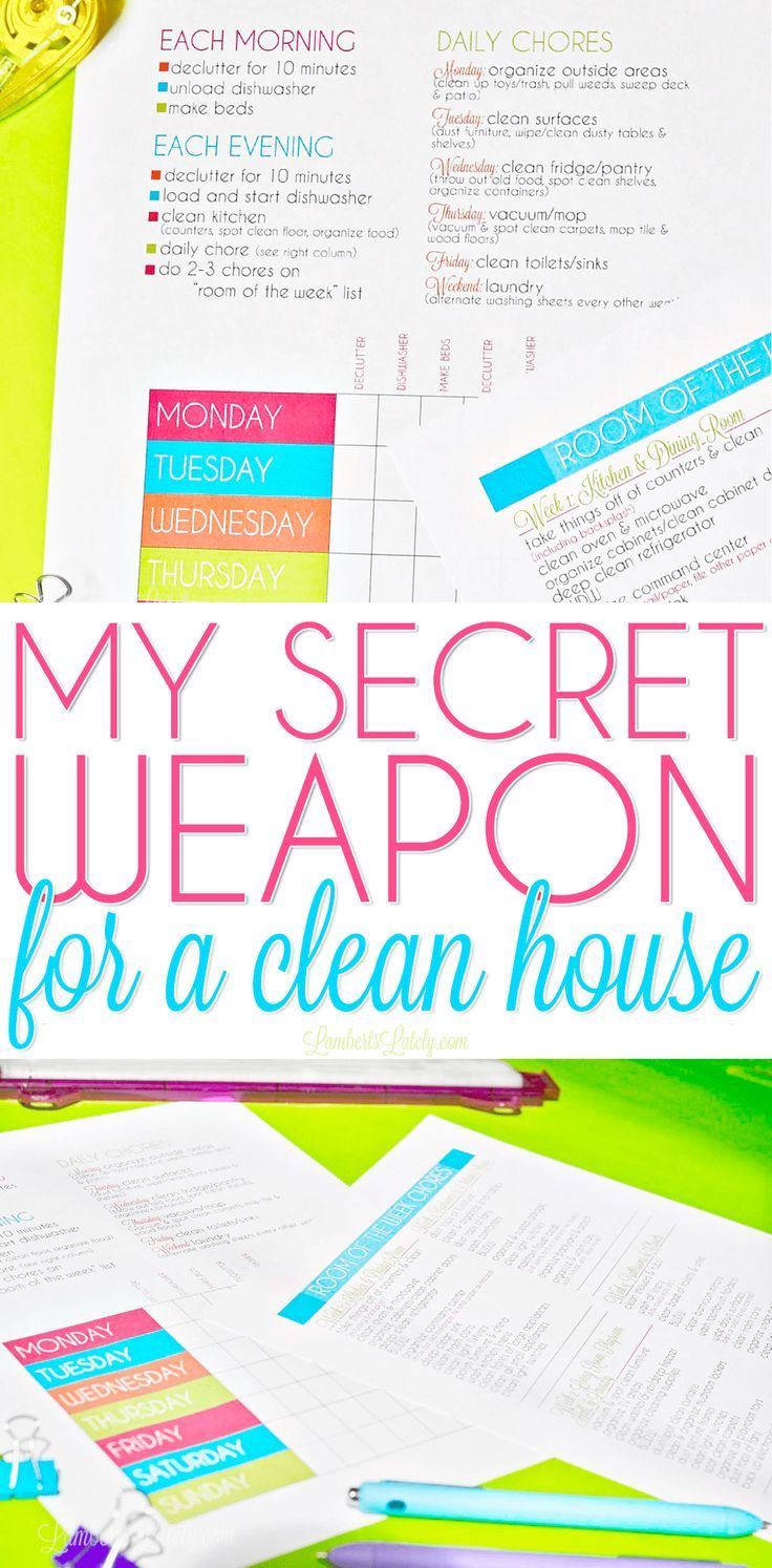 image regarding Free Printable Cleaning Schedule Template named My Mystery Weapon for a Fresh Home Operating Mama Cleansing