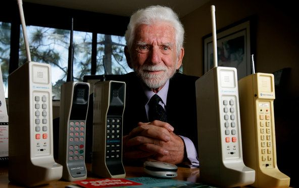 Martin Cooper, the former vice president of Motorola who helped create the first working cellphone