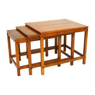 Mcm Drexel Heritage Asian Nesting Tables Chairish Style