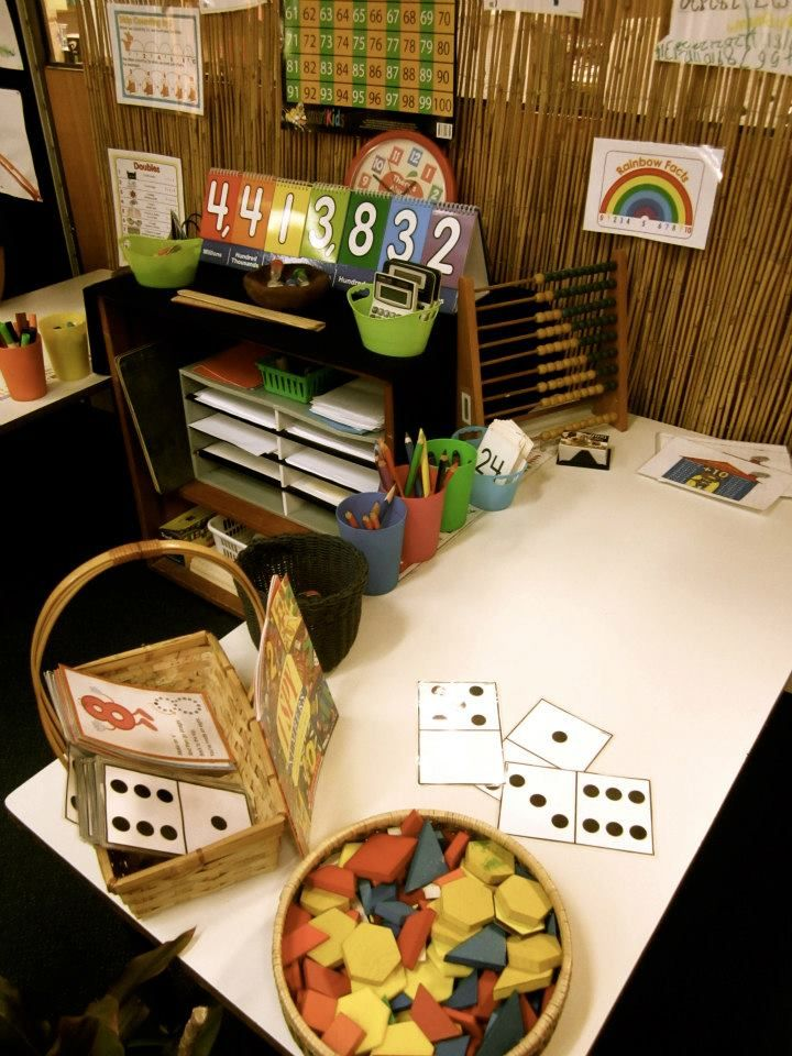 Pattern, shapes, numbers - invitation to play - at Anula PS, Darwin ≈≈ http://www.pinterest.com/kinderooacademy/math-numbers-shapes-patterns/