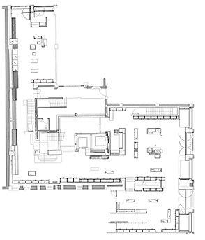 11 best images about fashion store layout on pinterest for Clothing store floor plan layout