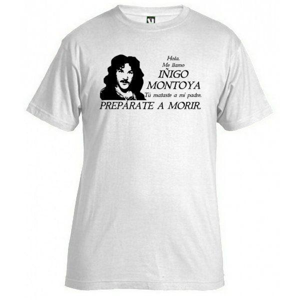 camiseta de la princesa prometida - iñigo montoya