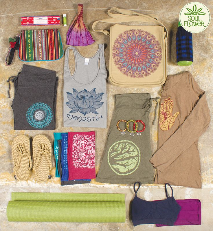Soul Flower's yoga goodies! #letyoursoulflower