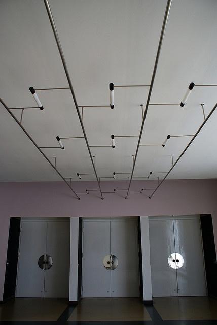 Bauhaus Dessau light fixtures.