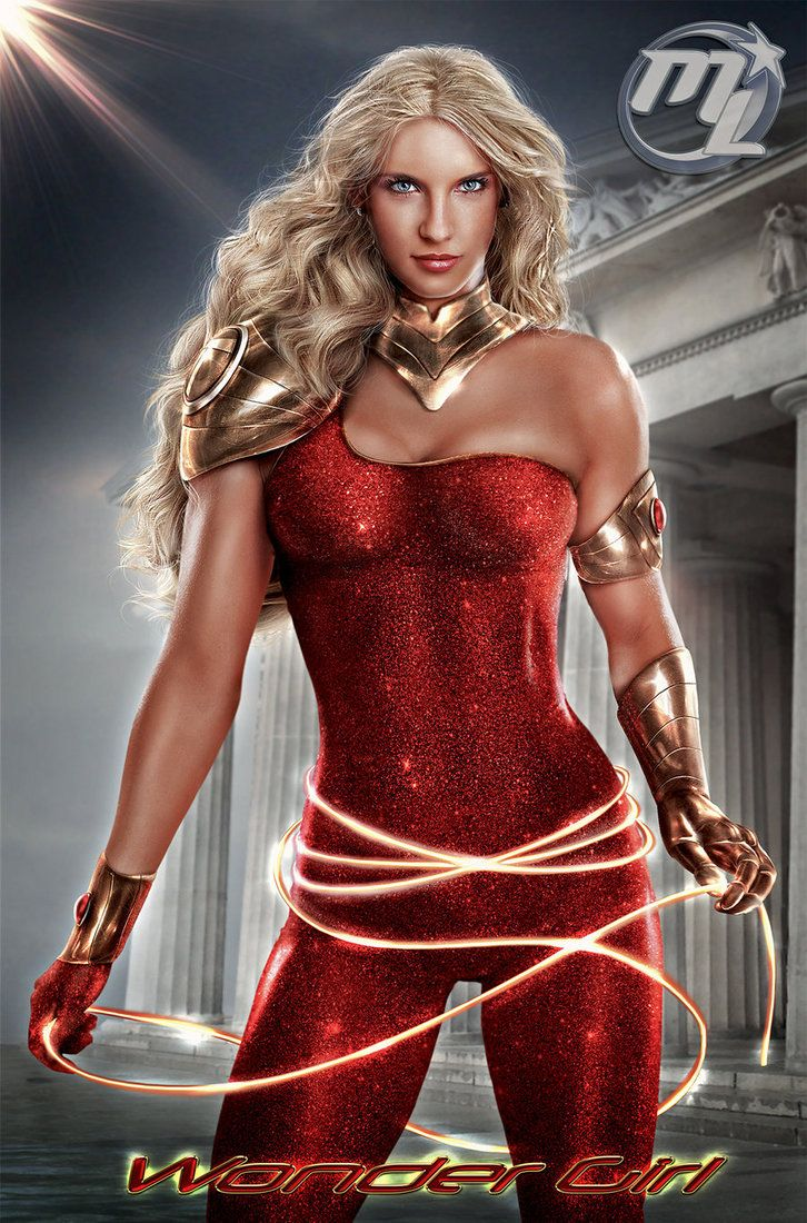 Luxury wonder woman costume-5546