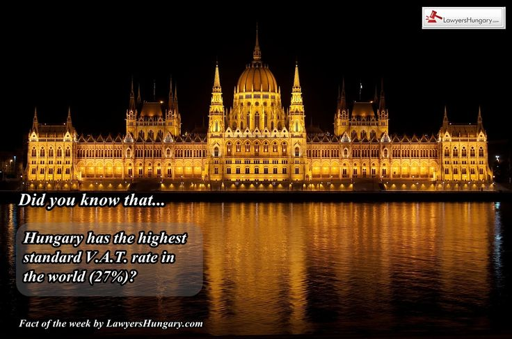 New Fact of the Week from our #lawyers in #Hungary http://www.lawyershungary.com/ #factoftheweek