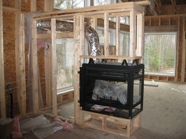 7 best Fireplace images on Pinterest Fireplace ideas 3 sided