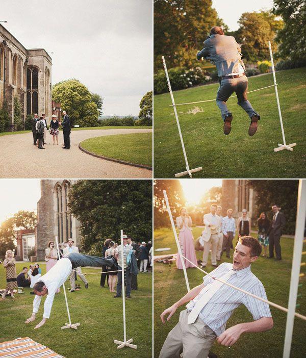 wedding lawn game limbo