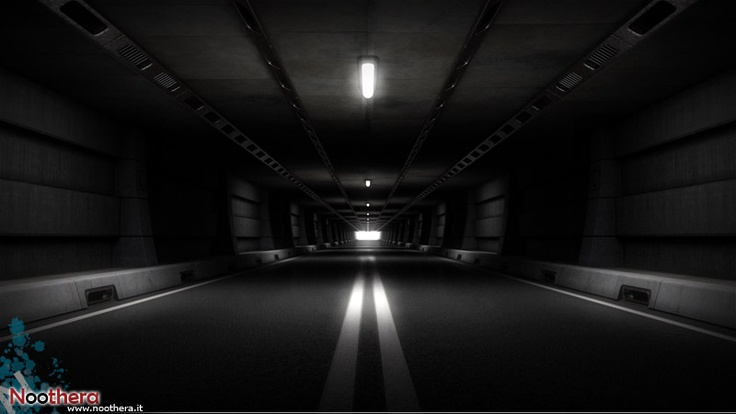 Tunnel - 3d enviroment for Laminam commercial - (3d, video, animation, render)    Noothera Portfolio