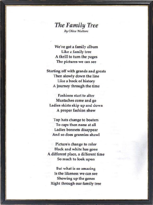 Family Photo Album Poems