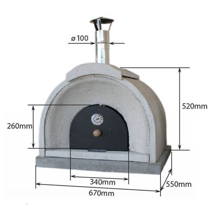 Garden Gift Shop - Buy Traditional Outdoor Wood Burning Oven | Outdoor Oven | Wood Pizza Oven