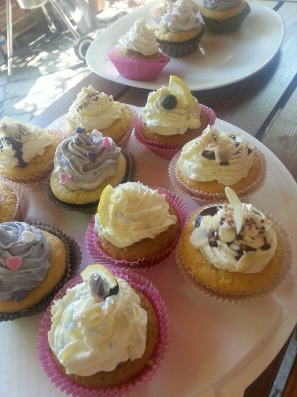 Cupcakes#coco#lemon#blueberry#vanilla#birthday#Czech#miss.enemy