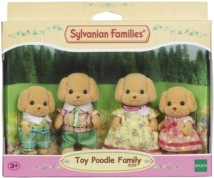 Sylvanian Families - Toy Poodle Family - Hobbies & Toys Online | Raru
