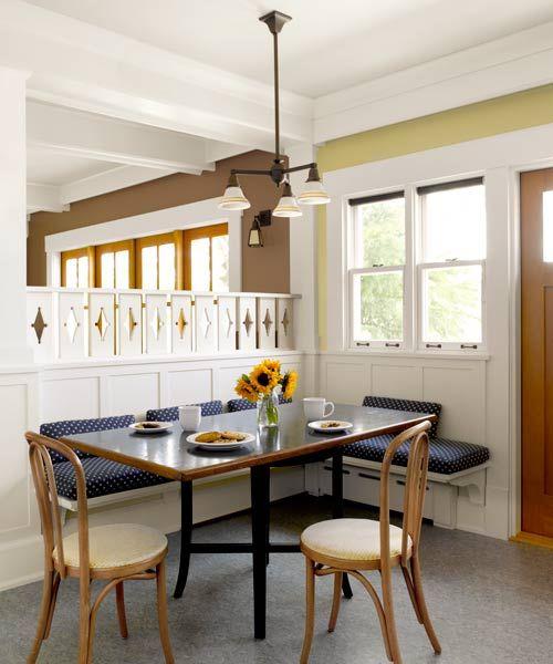 Best Dining Room Design Images On Pinterest Dining Room - Craftsman bungalow kitchen breakfast nooks