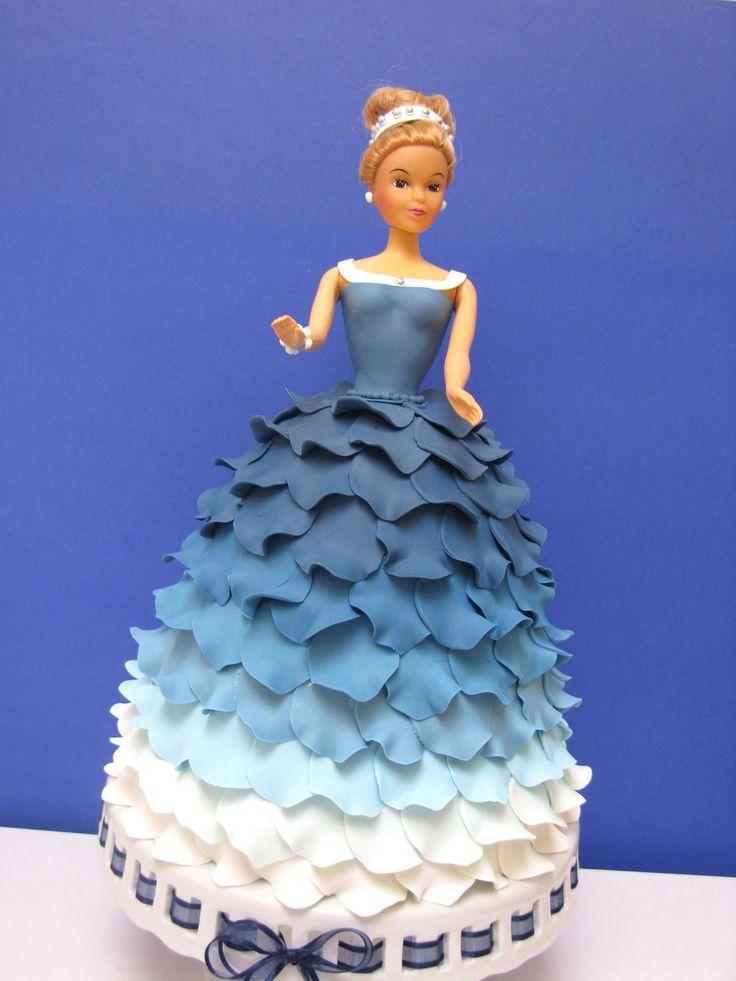 Best Doll Cakes Images On Pinterest Barbie Cake Doll Cakes - Birthday cake doll princess