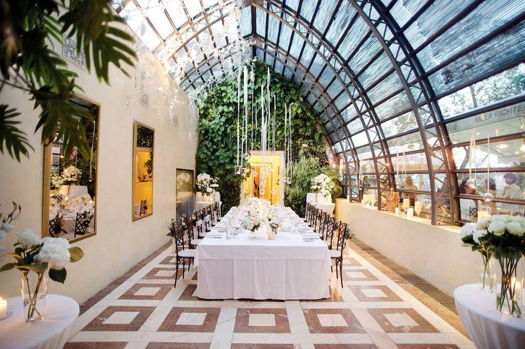 Wedding table in Glassroom, Exclusive weddings in Prague
