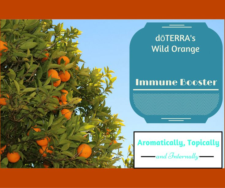 dōTERRA's Wild Orange Immune Booster Aromatically, Topically and In...