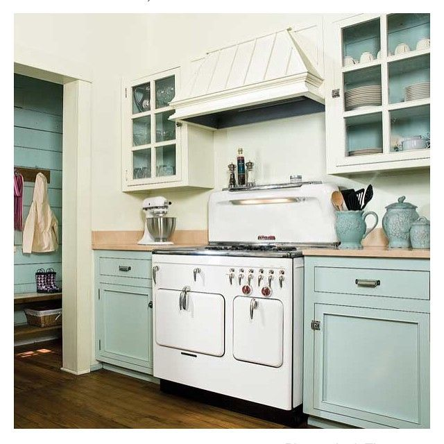 """This is not my kitchen, but I pinned it on #pinterest because I think it's lovely."