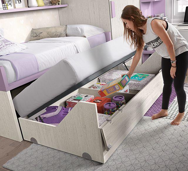 Muebles juveniles – Habitación a medida
