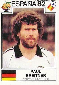panini world cup 1982 - Paul Breitner