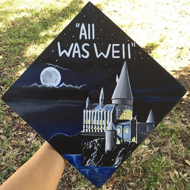 40 DIY Graduation Cap Ideas For Major Harry Potter Fans
