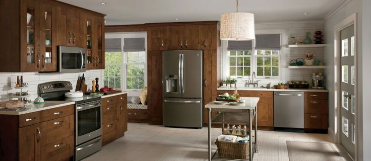 Kitchen Best Stainless Steel Kitchen Appliance Ideas With Stainless Steel Double Freezer Refrigerator Door Also Stainless Microwave And Stainless Steel Freestanding Electric Gas Range Oven Besides Burner Stove   Best Tips About Finding The Best Kitchen Appliances