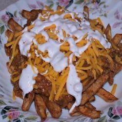 Nona's Chilli Cheese Fries