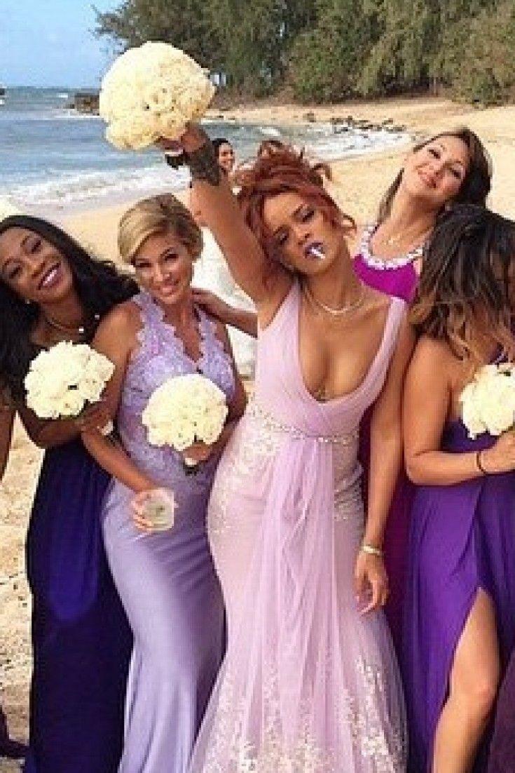 Rihanna in wedding