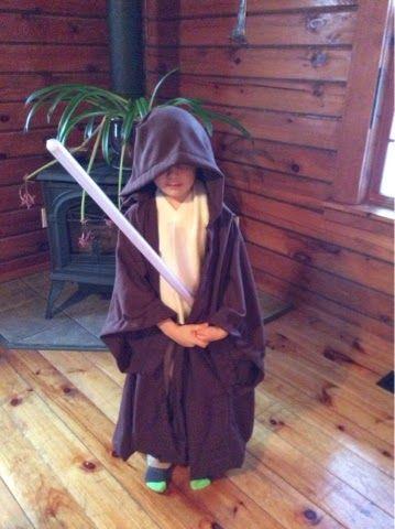 Tutorial - Jedi robe for my little Padawan : Iridescent Dreams