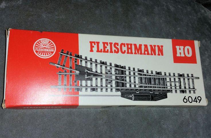 Fleischmann 6049, H0, Hochgeschwindigkeitsweichen (2 Stck.), OVP